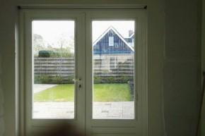 Renovatie en aanbrengen tuindeuren